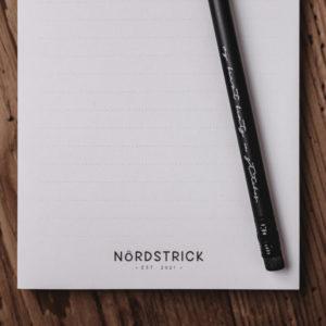 nordstrick Notizblock A6