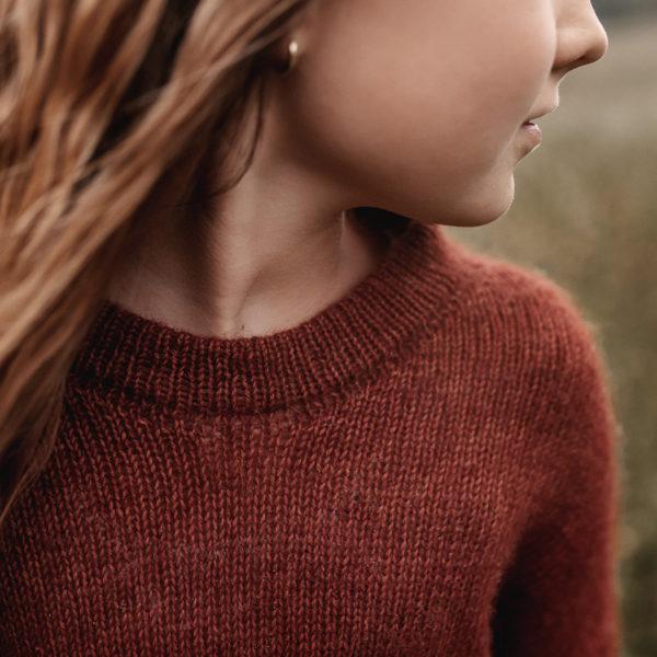 nordstrick kids sweater no. 01 pattern PDF deutsch englisch english knitwear strickanleitung