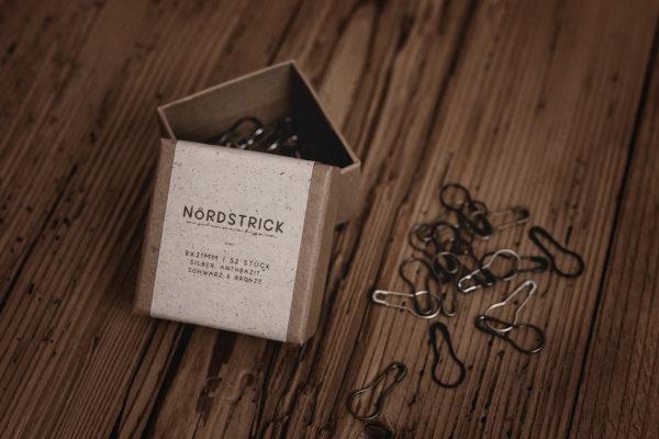 nordstrick Maschenmarkierer Markierer Metall