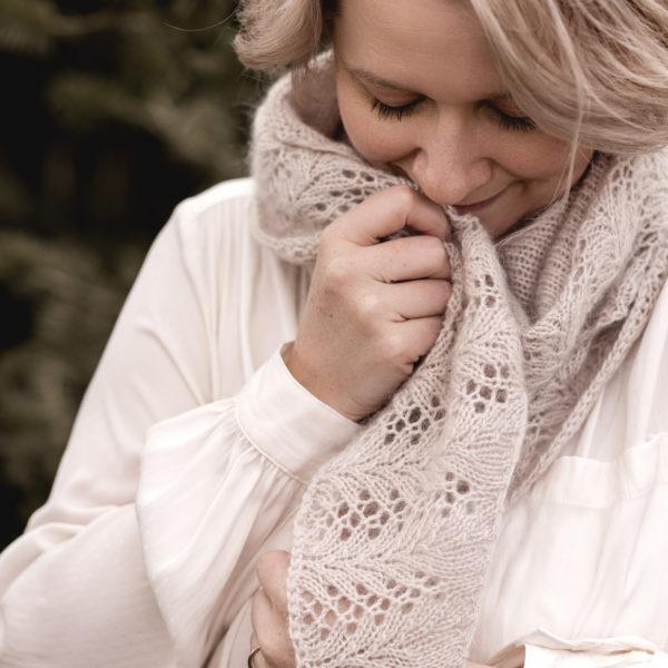 nordstrick shawl no. 01 pattern PDF deutsch englisch english knitwear strickanleitung