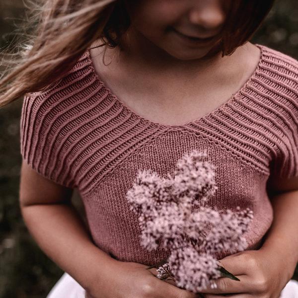 nordstrick kids shirt no. 01 pattern PDF deutsch englisch english knitwear strickanleitung