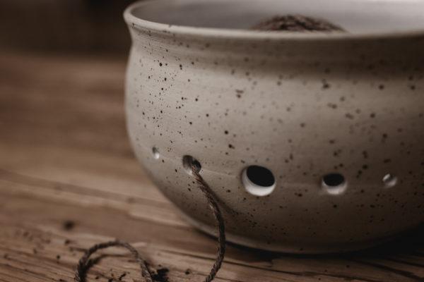nordstrick garnschale yarn bowl keramik töpferkunst formfrei
